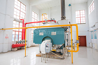 industry natural gas steam fire tube boiler dealer