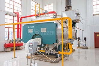 bathroom natural gas steam fire tube boiler