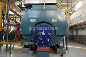 4 ton high efficiency natural gas boiler or horizontal