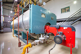 school gas hot water vacuum boiler