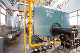 fully automatic industrial 4t natural gas boiler turkey