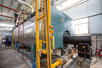high pressure pressure and oil-fired fuel steam boiler