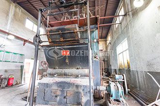 5t/h gas fired hot water boiler price--zozen