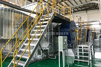 dzh series coal fired steam boiler - coal fired boiler - zhong