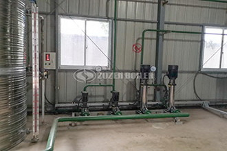 hotel natural gas hot water atmospheric pressure fire tube boiler